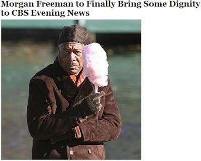 The ever dignified Morgan Freeman