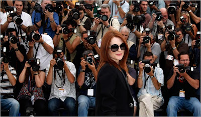 Julianne Moore at Cannes 2008