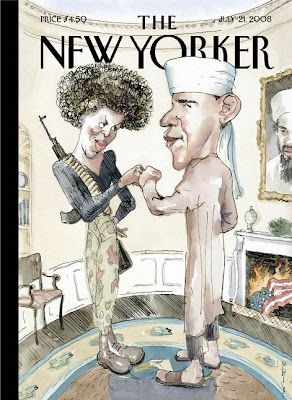 New Yorker cover 2008-07-21
