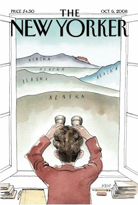 New Yorker cover featuring Sarah Palin