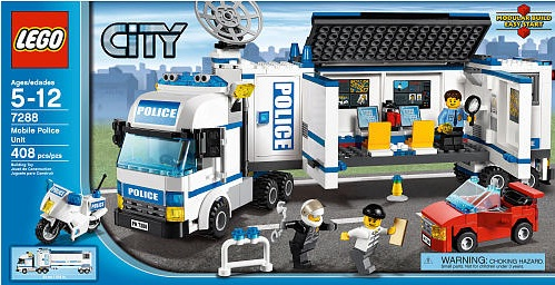 The Brick Blog 2011 Lego City Police Truck