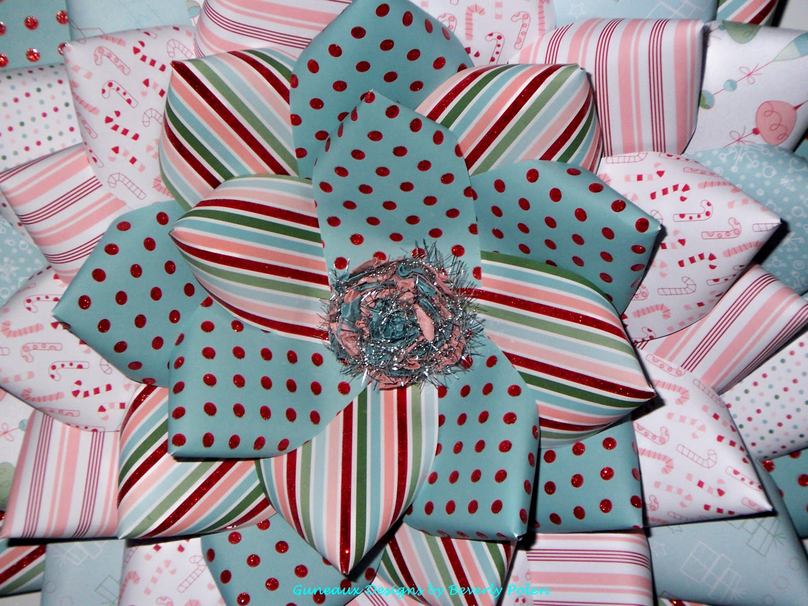 Guneaux Designs By Beverly Polen How To Make A Candy Cane Christmas