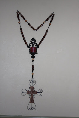 Holy Handmade Originals By Melodie Large Wall Rosary With