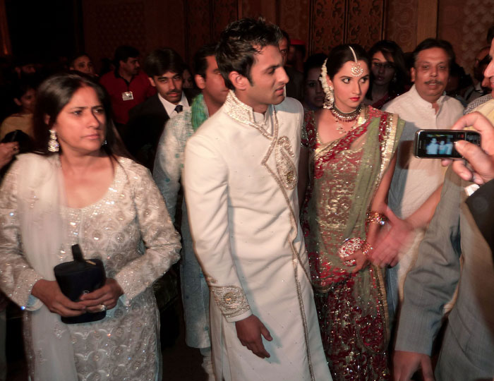 Sania Mirza - Shoaib Malik Reception in Pakistan still 5