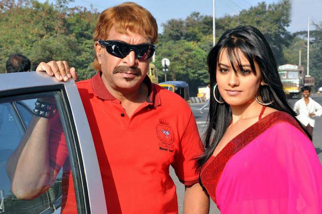 Maharaja Movie Naasar and Anitha