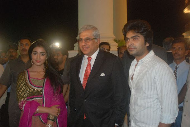 Simbu and Shriya @ Hiranandani Palace Gardens stills 4
