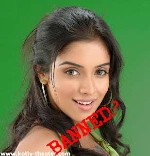 Asin to be banned from Kollywood