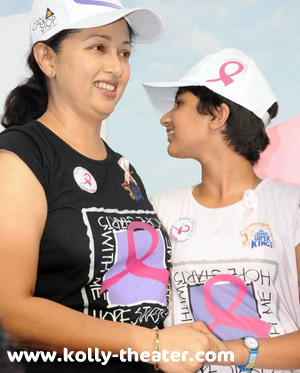 Gauthami suffered from breast Cancer