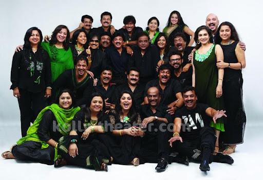 Rajini dazzles at Evergreen 80's Stars Reunion Party