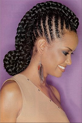 Professional Cornrow Styles For Natural Hair