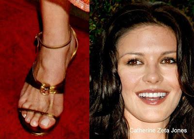 Catherine Zeta Jones Feet