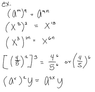 Kolokyal Math: Rules in Preforming Exponential Equations