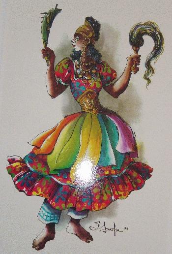 Afefé Ikù (Vendabal de muerte)
