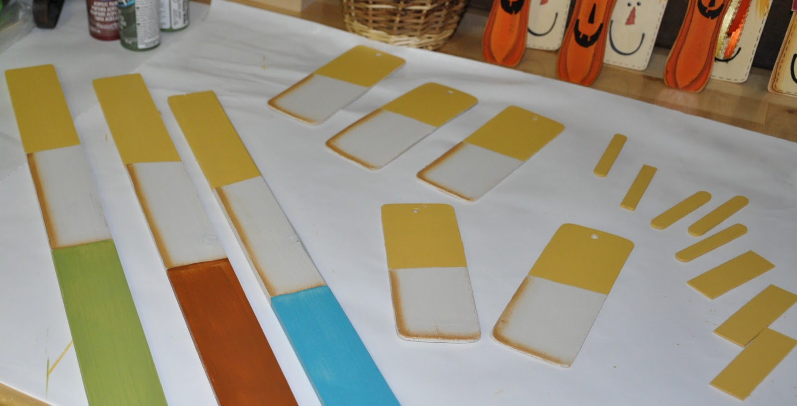 Megpie Designs Autumn Book Marks