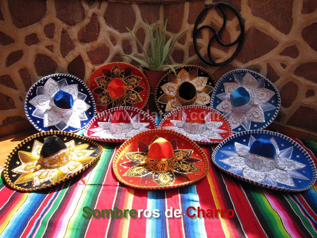 Sombreros mexicanos - Decoracion de sombreros ...
