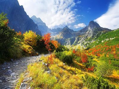 fall mountains