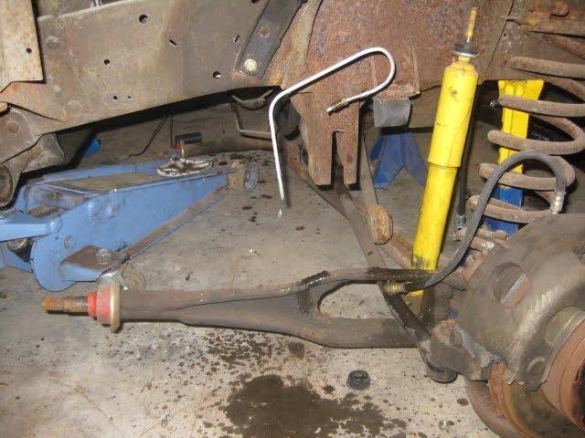 1966 Ford F100 Restoration Front Suspension Removal
