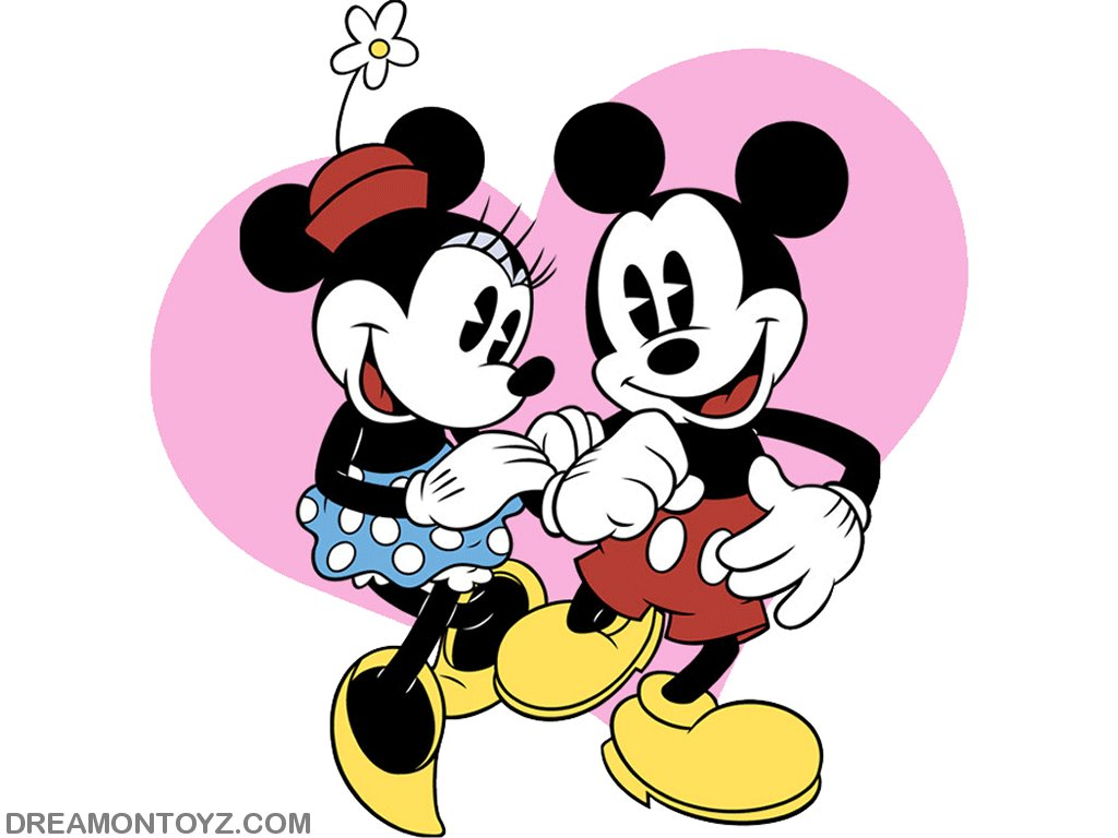 mickey mouse with minnie - photo #2