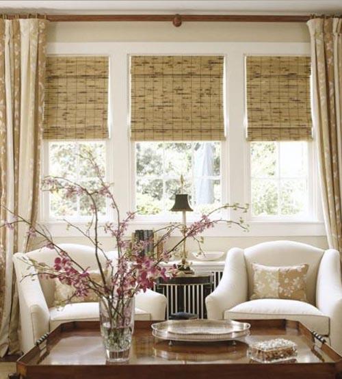The Cottage Around the Corner: Window Treatments