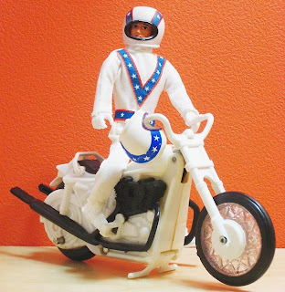 cycle trash 1970s evel knievel toy ideal. Black Bedroom Furniture Sets. Home Design Ideas