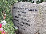 Tolkien's grave..