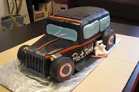 Rat Rod Birthday Cake