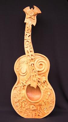 wood carving by Jonathan Mahood