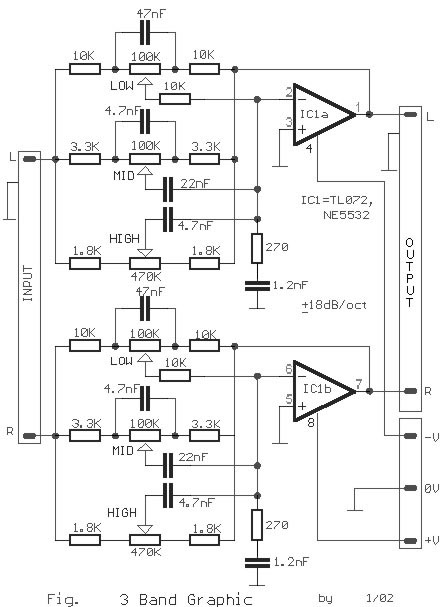 bridged audio amplifier circuit tda2030 10w audio amplifier circuit