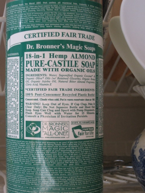 Vicki T...looks At Skin And Body Health: Laundry Detergent