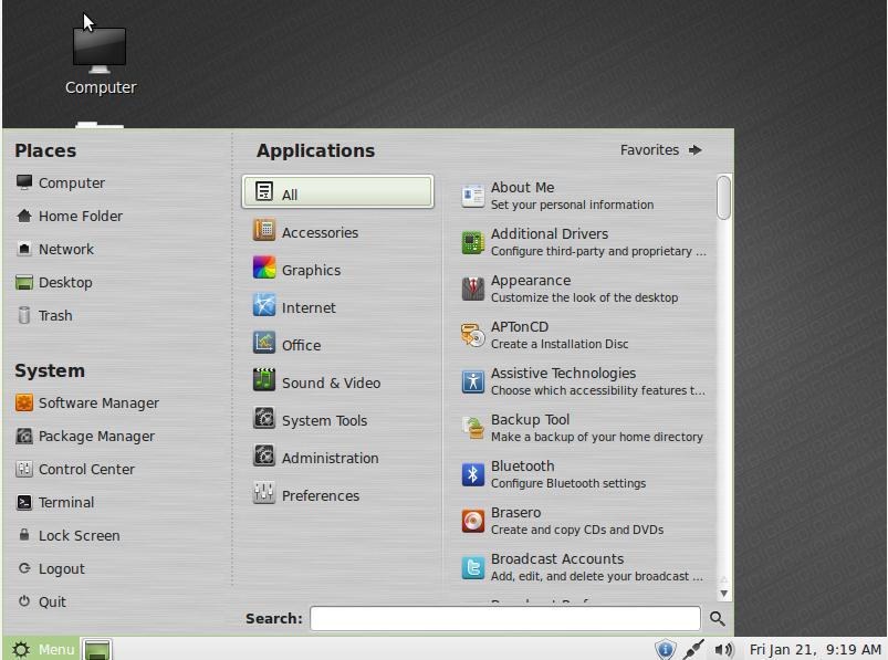 Firewall: Linux Mint Firewall
