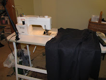 I blog about sewing here.....