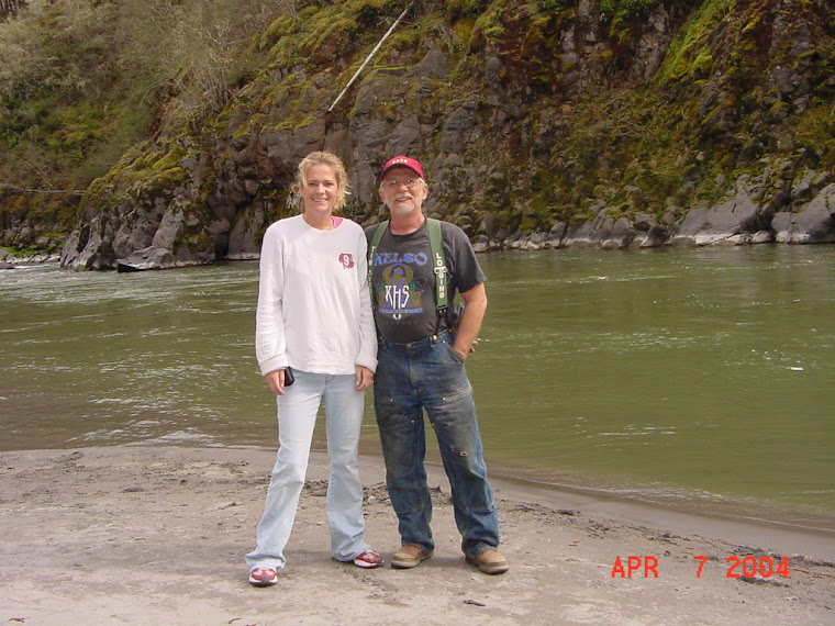 Nunamaker and myself on the Toutle River
