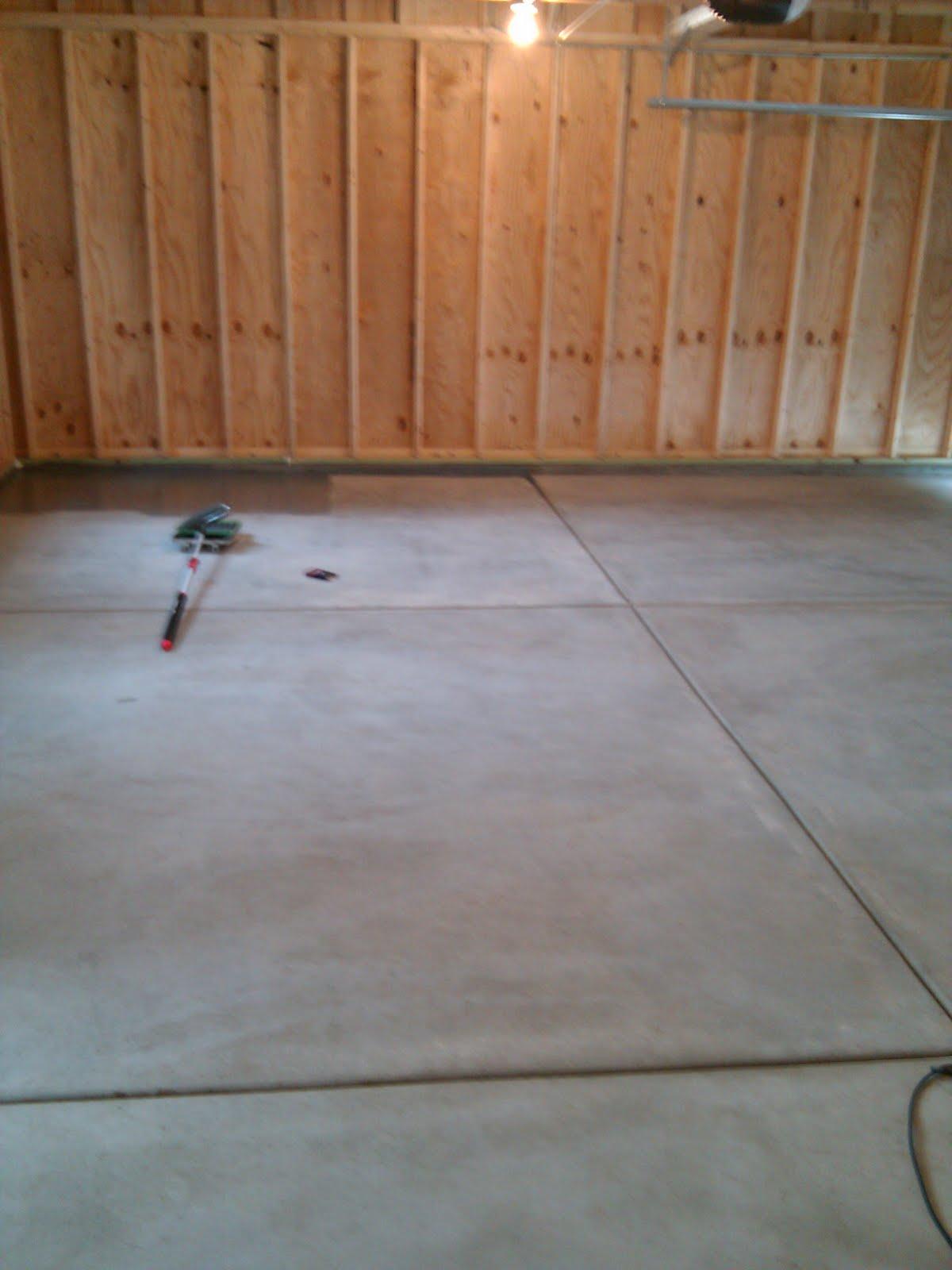 Garage Floor  DIY Epoxy Floor Kit from Rustoleum