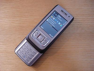 Nokia E65, un téléphone symbian