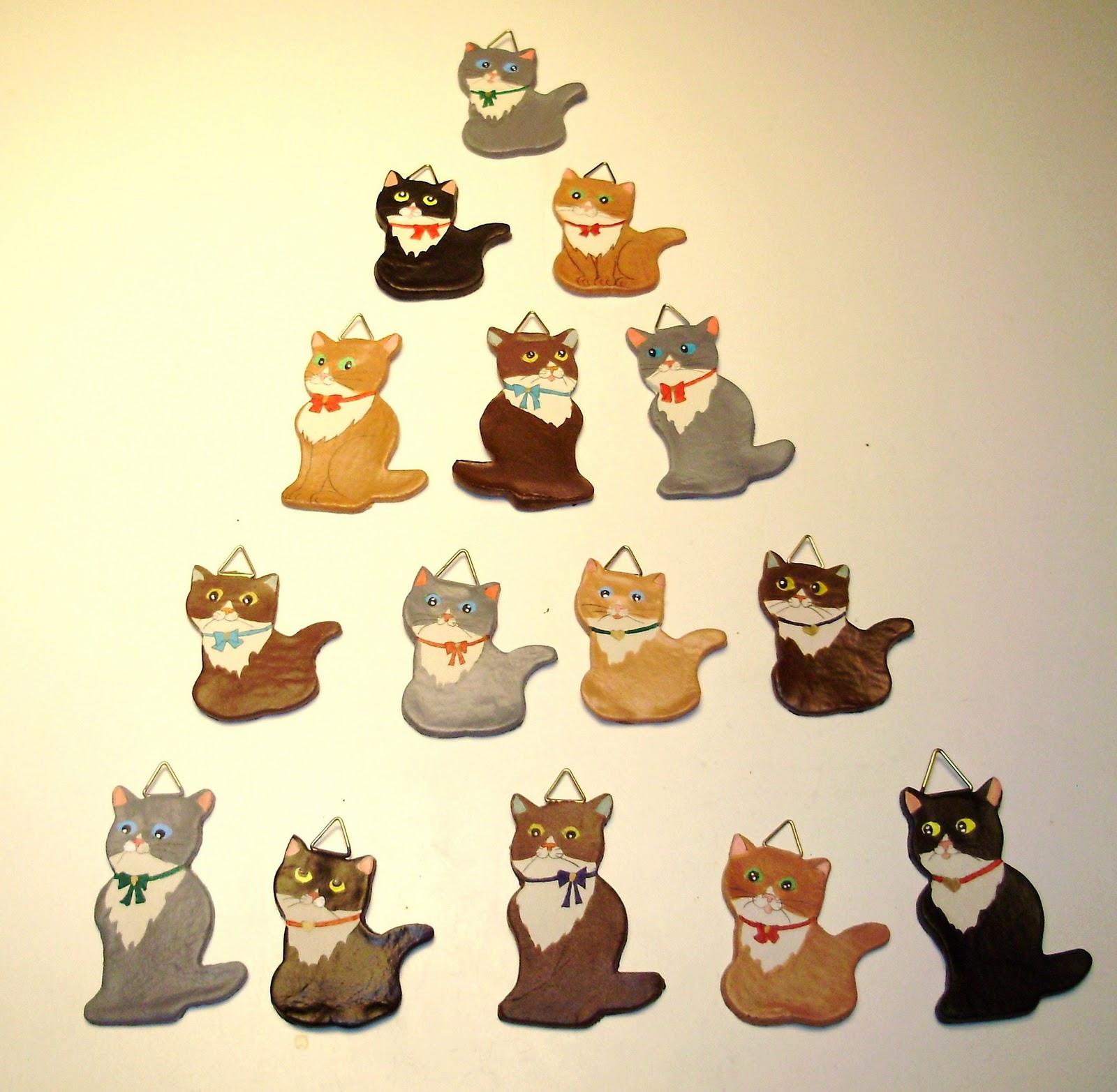 Top Rumore di fusa: Gattini da appendere all'albero di Natale XE83