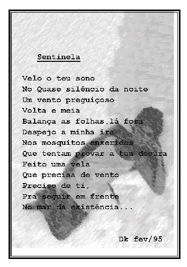 Poema - Sentinela