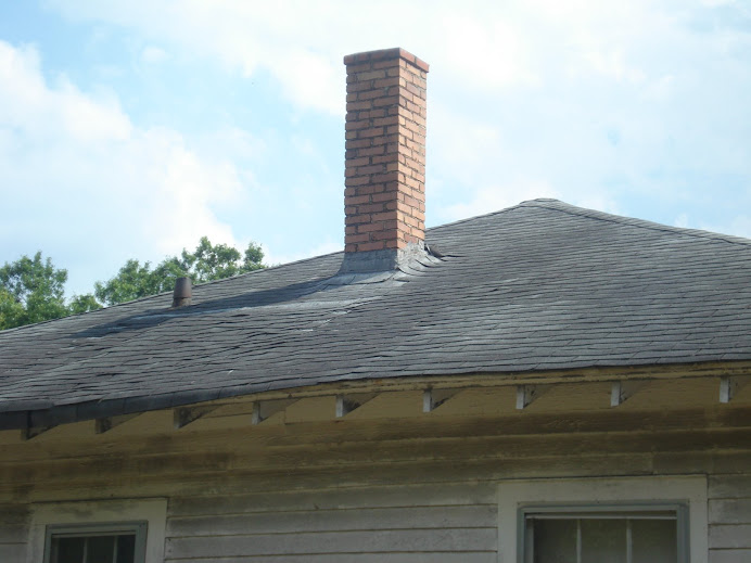 A new roof is a must, there are lots of leaks