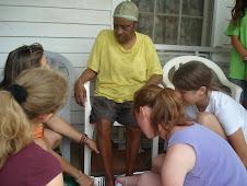 Foot Washing with Ida Mae