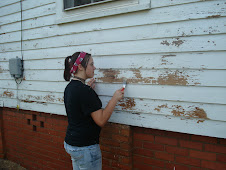 Jayme is scraping the walls!