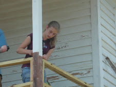 Erica.....look at those muscles move as she is building the rail!