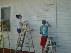 Dylan & Kayla....working hard!!!!