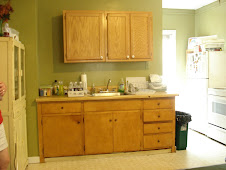 Ida mae's new cabinets....yeah!