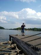 Aaron is Gone Fishin'