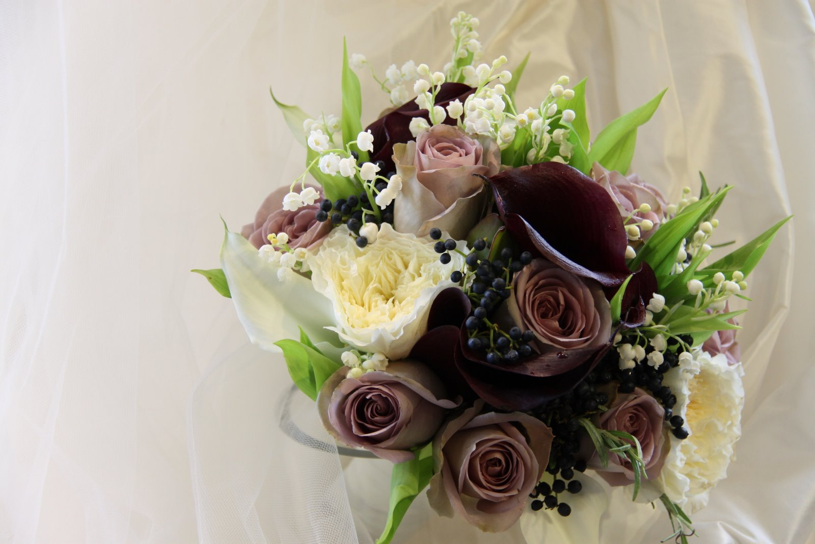 Lily Of The Valley Wedding Bouquet: The Flower Magician: Lily Of The Valley, Rose & Calla Lily