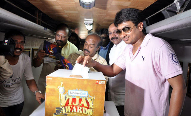 Vijay TV's annual awards 2010 Rasigan Express  stills
