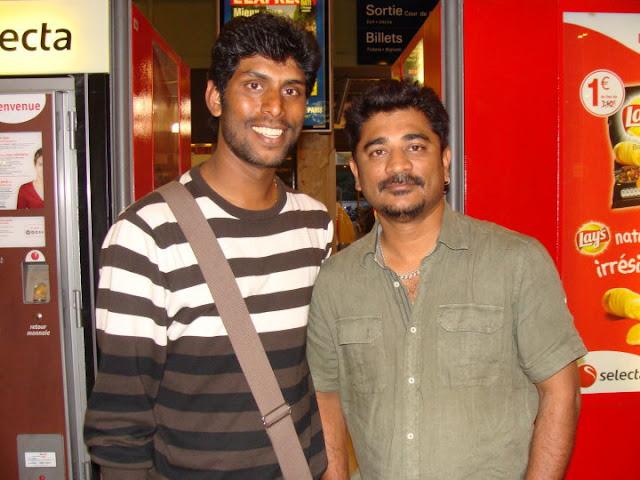 Ich Movie On Location Crew Stills-Raju Sundaram
