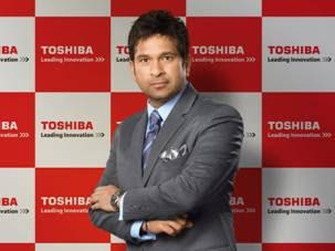 Sachin Replaces Vidya Balan as Toshiba Brand Ambassador