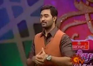 Prasanna on Sun TV Honey Moon Jodigal