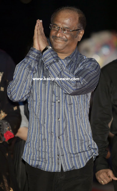 Rajinikanth at Endhiran Audio Launch Stills