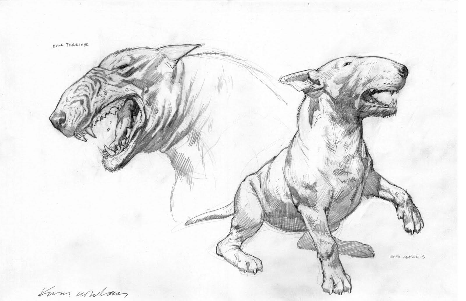 Kevin Nowlan: Hulk Dogs
